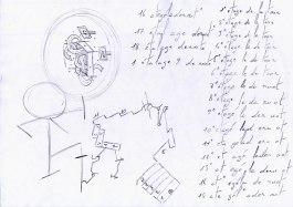 Programme/plan du rêve d'Alexis