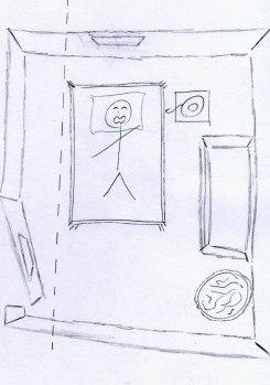 Plan Chambre d'Alexis