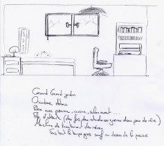 Coupe chambre et programme de Fabien