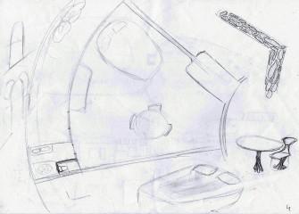 plan chambre et détails