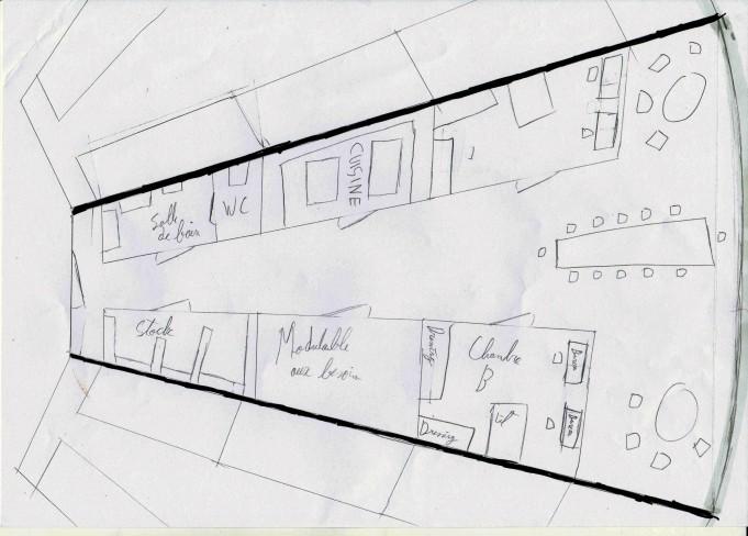 Plan d'habitation